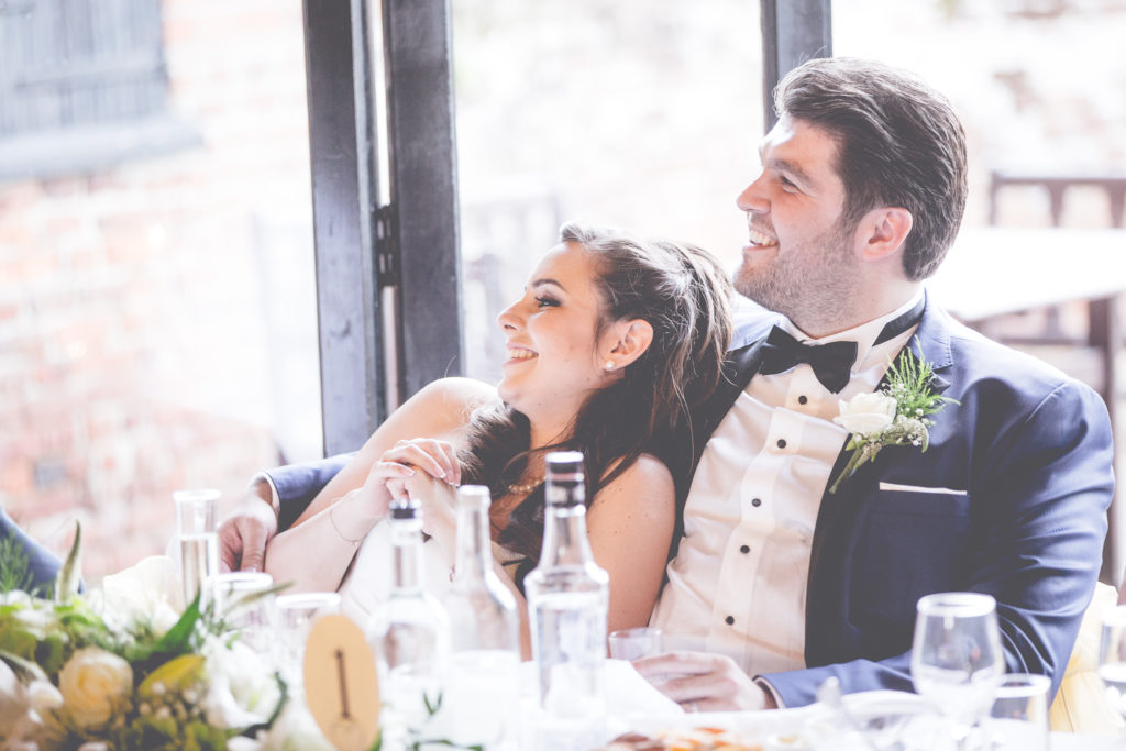 Happy Couple at their wedding at Leez Priory Essex, Wedding Photography by Couture Wedding Films