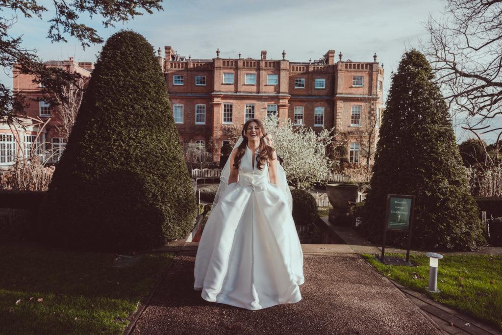 practical wedding dress, pockets, wedding dress